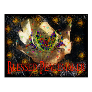Blessed Peacemaker Postcard