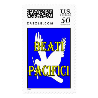 blessed peacemakers dove stamp
