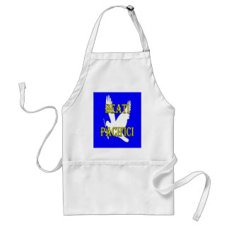 blessed peacemakers white dove aprons