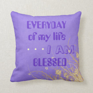 Blessed pillow 2 (Double sided)