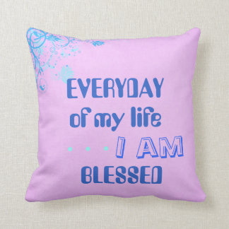 Blessed pillow (Double sided)
