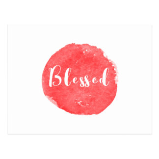 Blessed Postcard