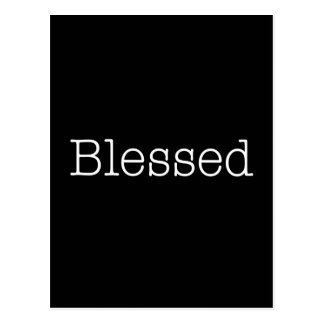 Blessed Quotes Inspirational Faith Quote Postcard