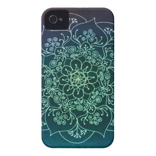 Blessed Rain Mandala iPhone 4 Covers