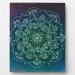 Blessed Rain Mandala Photo Plaque