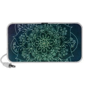 Blessed Rain Mandala Laptop Speaker