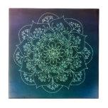 Blessed Rain Mandala Tile