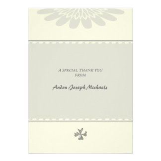 Blessed Religious Thank You Notecard Custom Announcements