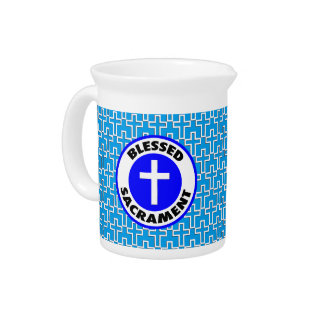 Blessed Sacrament Drink Pitcher