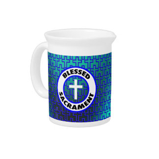 Blessed Sacrament Drink Pitchers
