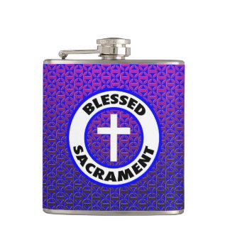 Blessed Sacrament Hip Flask