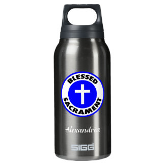 Blessed Sacrament Insulated Water Bottle