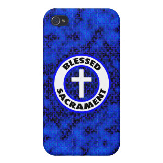 Blessed Sacrament iPhone 4 Cases