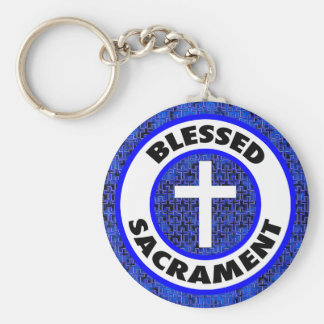 Blessed Sacrament Keychain