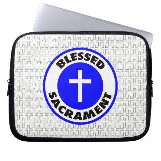 Blessed Sacrament Laptop Sleeve