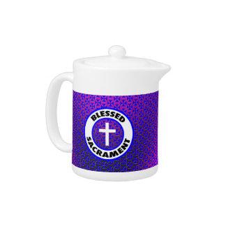 Blessed Sacrament Teapot