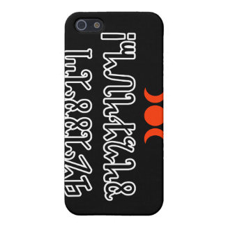 Blessed Samhain; Black Theban Script Cases For iPhone 5