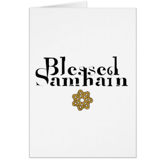 Blessed Samhain Greeting Cards