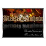 Blessed Samhain Card