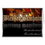 Blessed Samhain Greeting Card