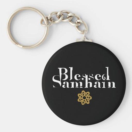 Blessed Samhain Key Chains