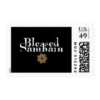Blessed Samhain Postage Stamp