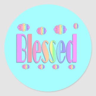 Blessed Stickers