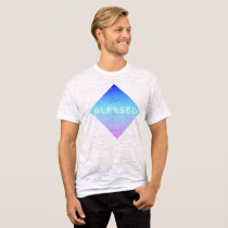 Blessed Swoozy Blue Diamond T-Shirt