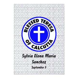 Blessed Teresa of Calcutta Invite