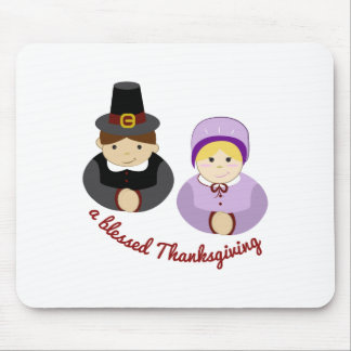Blessed Thanksgiving Mouse Pad