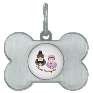 Blessed Thanksgiving Pet Tag