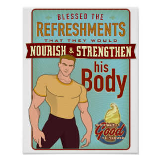 Blessed the Refreshments. poster