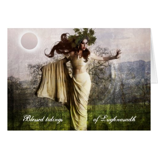 Blessed Tidings of Lughnasadh Card