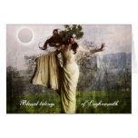 Blessed Tidings of Lughnasadh Greeting Card