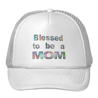 Blessed to be a Mom Trucker Hat