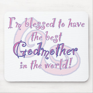 Blessed to have - Godmother Mouse Pad