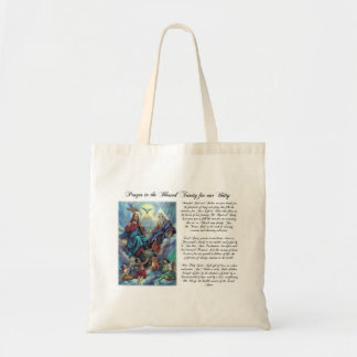 Blessed Trinity Prayer for Unity Bag