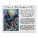 Blessed Trinity Prayer for Unity Poster