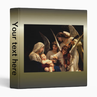Blessed Virgin Mary and Infant Child Jesus 3 Ring Binder