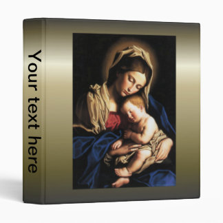 Blessed Virgin Mary and Infant Child Jesus Binder