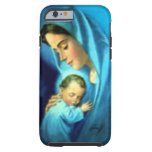 Blessed Virgin Mary and Infant Child Jesus Tough iPhone 6 Case