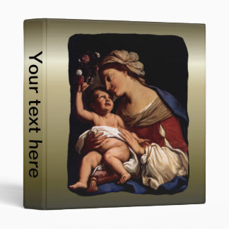 Blessed Virgin Mary and Infant Child Jesus -Sirani Binder