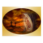 Blessed Virgin Mary Calvary Post Cards