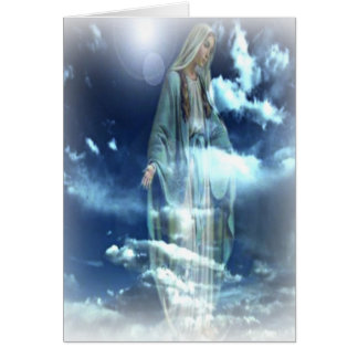 Blessed Virgin Mary Card