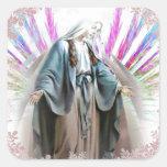 Blessed Virgin Mary Christmas sticker
