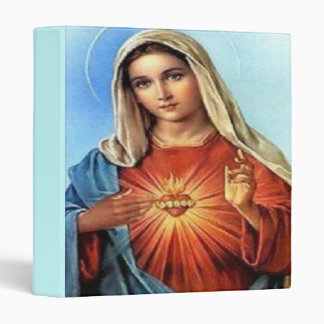 Blessed Virgin Mary Customizable Binder