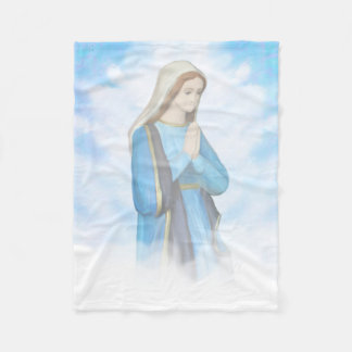 Blessed Virgin Mary Fleece Blanket