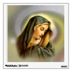 Blessed Virgin Mary in Prayer Wall Decal