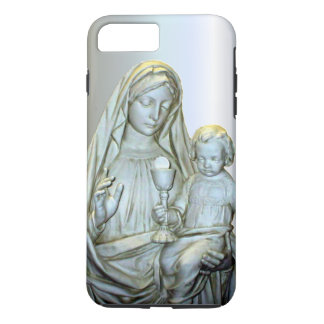 Blessed Virgin Mary - Infant Child Jesus iPhone 7 Plus Case