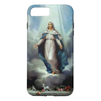 Blessed Virgin Mary  - Light Shine Upon You iPhone 7 Plus Case